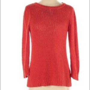 J. Crew XXS Orange Knit Sweater